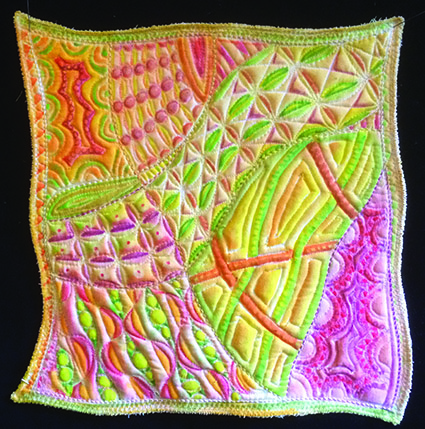 Bright version of the pattern